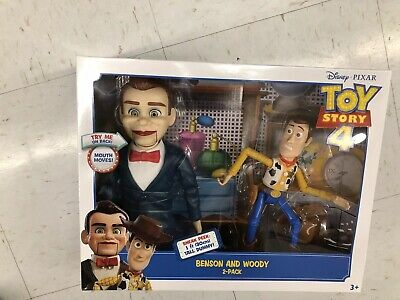 Disney Pixar Toy Story 4 Benson And Woody 2 Pack