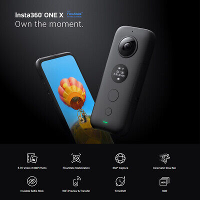 Insta360 ONE X 5.7K HD VR 360°Panorama Live Streaming Sport Kamera Camcorder