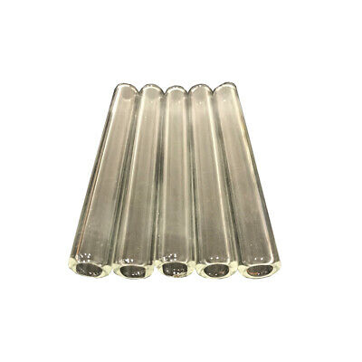 "8 Piece ⭐ 4"" Inch ✓ 12mm OD 8mm ID Pyrex Glass Blowing Tubes 2mm Thick Tubing  ✓"