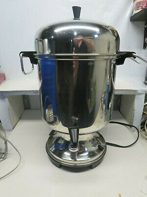 Farberware 155C Superfast Commercial 18-55 Cup Stainless Steel Coffee Urn Maker