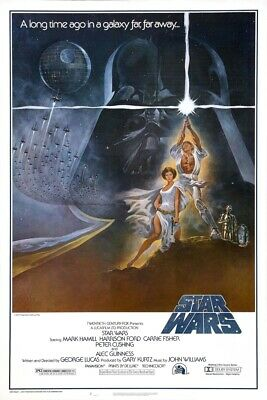 Star Wars A New Hope Version 1 Collector Poster 4 Different Sizes (B2G1 Free!!)