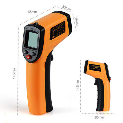 GM320 Non-Contact LCD IR Laser Infrared Digital Temperature Thermometer Gun HO