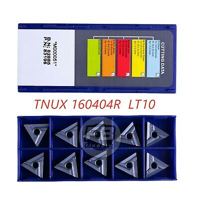 10PCS VNMG160404-MA US735 VNMG331 Carbide Insert Cutting Tools For Cutting Steel