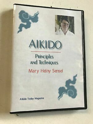 Aikido Principles & Techniques DVD by Mary Heiny Martial Arts