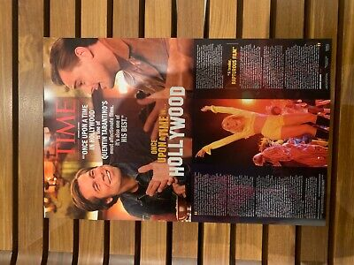 "Once Upon A Time In Hollywood  11"" X 17"" Movie Poster - Tarantino - Collectible"
