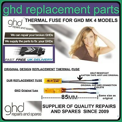 Ghd Hair Straightener Repair Replacement thermal fuse for all GHD MK4  models