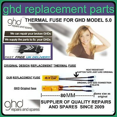 Ghd Hair Straightener Repair Replacement thermal fuse for all GHD 5.0 Models