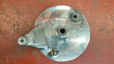 Suzuki Gt380 Rear Brake Plate
