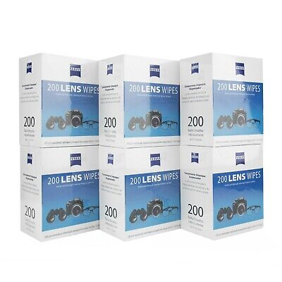 Zeiss Pre-Moistened Lens Cleaning Wipes 600Ct, 1200Ct Wholesale
