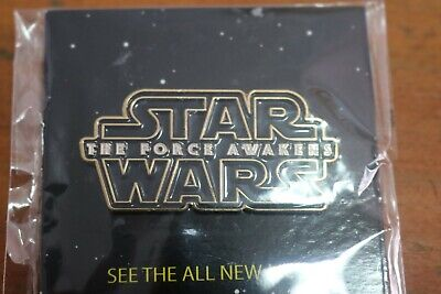 NIP Disney Movie Rewards Exclusive Star Wars The Force Awakens Pin DMR