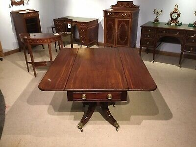 A Regency Period Cuban Mahogany antique Pembroke Table