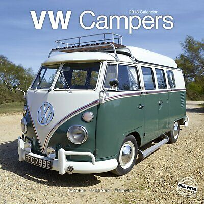Calendrier Vw Campers 2018