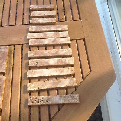 Vintage Reclaimed Tiles, Retro, Made In England, J H & S