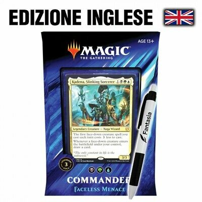 Faceless Menace - MTG Commander 2019 (ENG) + Penna Fantàsia!