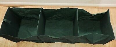 BOSMERE Concertina Car Boot Tidy - Tough, PVC backed polyester, Folds flat - VGC