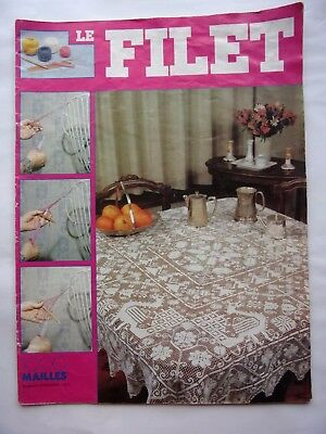 catalogue de tricot  1000 MAILLES -  LE FILET - HORS SERIE