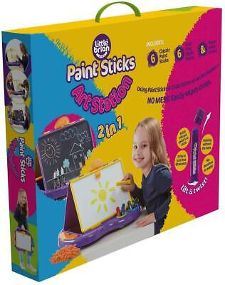 Little Brian LBCLASSICAS Paint Sticks Classic Art Station, Multi