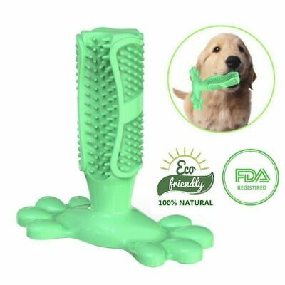 Dog Toothbrush Pet Brushing Stick Teeth Cleaning Chew Toy For Pet Dogs Oral Care