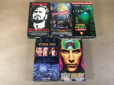 LOT OF 5) Lost in Space Movie VHS Sci-Fi VHS Tapes (#070