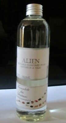 Recharge Solution Parfumee Sans Alcool Pour Diffuseur A Tiges *Alien* 260Ml
