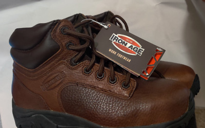 e6ae5c3865a IRON AGE MEN'S Trencher IA5002 Work Boot,Brown,7.5 W US - $52.42 ...