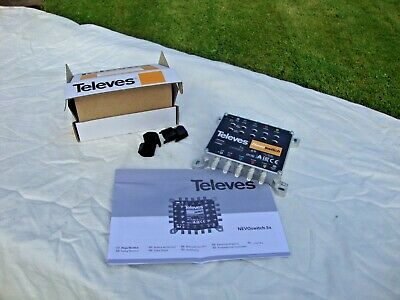 Televes Nevoswitch Amplifier  714509 MS530VGQ
