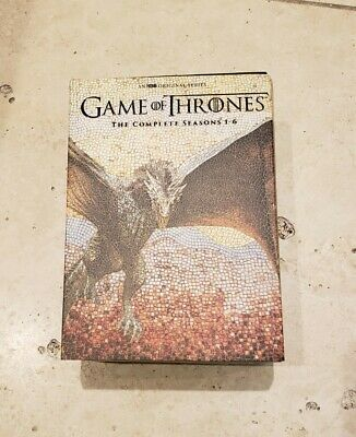 game of thrones 1-6 DVD