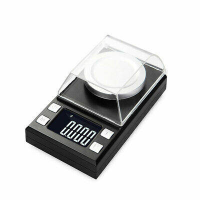 Durable Electronic LCD Digital Jewelry Scale Balance Weight Gram 50g x 0.001g UK