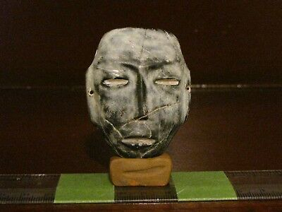 Pre Columbian, Stone, Teotihuacan Maskette, Early Late Classic 300  900 AD