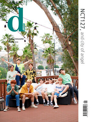 NCT 127 D-icon VOL.5 DISPATCH MAGAZINE NCT127, and City of Angel PHOTOBOOK NEW