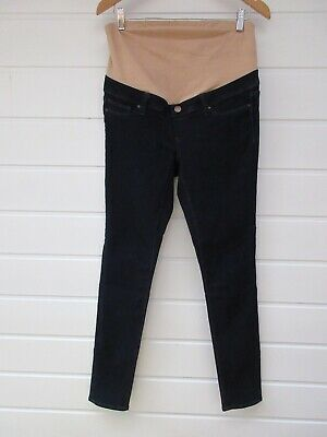 JEANSWEST Maternity Dark Blue Denim Skinny Jeans- Size 10