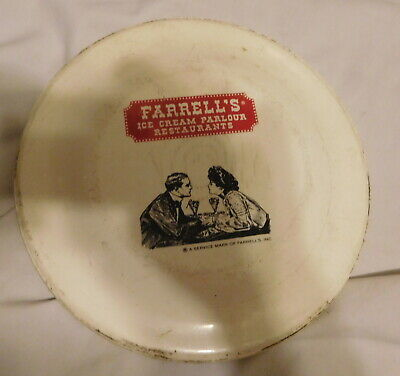 vintage Farrell's Ice Cream Parlor Restaurant Frisbee made in USA