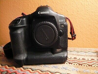 Canon EOS 1DS Mark II 16.7MP Digital SLR Camera Body Studio AC and Charger Nice