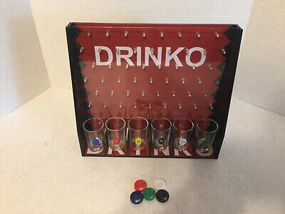 DRINKO NOVELTY DRINKING GAME Hilarious Funny Crazy Social Party Games College