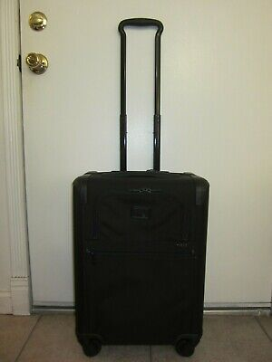 """Tumi 22061D2 Alpha 2 Continental Expandable 4 Wheel Carry On Luggage 22"""""""