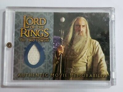 Lord Of The Rings TTT Update Costume Card Sarumans Overtunic MINT