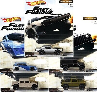 Pre-Order Hot Wheels 2019 Fast And Furious Release D