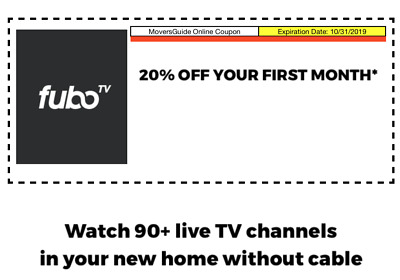 Fubo TV Coupon for 20% Off Your First Month, Stream 90+ Channels of Live TV