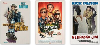 """Once Upon a Time in Hollywood Poster Movie 2019 Film comedy Print 24x36"""" 32x48"""""""
