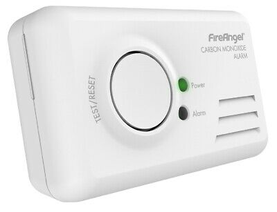 Fireangel CO-9B Basic Battery Powered LED Carbon Monoxide Detector Alarm