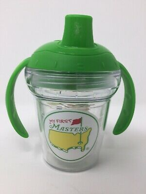 "2019 ""Masters Tournament"" ""Babys"" My First Masters"" Sippy Cup Tervis Tumbler"