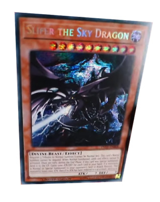 Slifer the Sky Dragon Prismatic Secret Rare TN19-EN008 NM Yugioh Ships Aug 29th