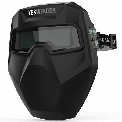 True Color Auto Darkening Welding Goggles Mask Welding Helmet Welder Glasses