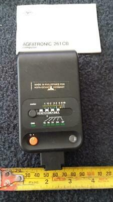Agfatronic 261 CB Flash.hot foot,tools,film,photography,house,garden.old,camera.