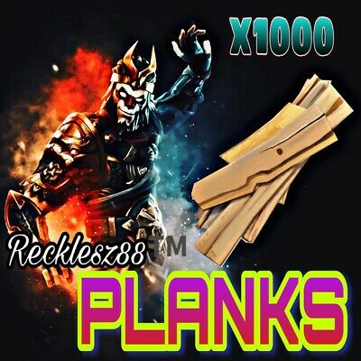Planks x1000 - Fortnite Save The World