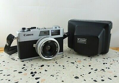 Vintage Canon Canonet 28 35mm Rangefinder Camera with Case