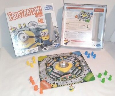 Minions Frustration Despicable Me Edition Hasbro Family Board Game Complete