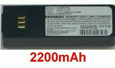 Battery 2200mAh Type 56626 701 099 for Inmarsat Isatphone Pro
