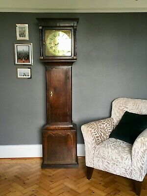 Grandfather Clock cicra 1775 Welsh