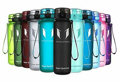 Super Sparrow Sports Water Bottle - 350ml  500ml  750ml  1000ml - Non-Toxic B